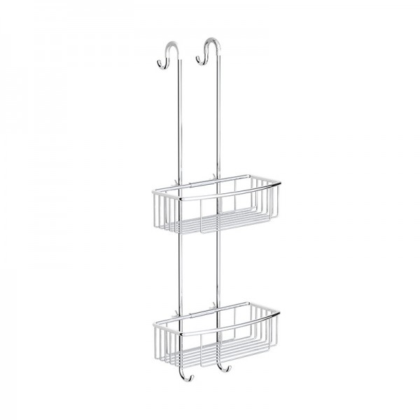 Hanging Shower Basket, Double Tier