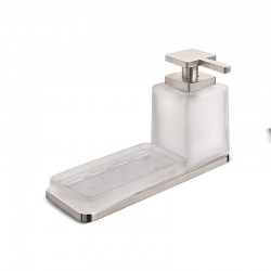 Soap Dish & Dispenser Kit