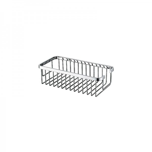Deep Rectangular Shower Basket, Large