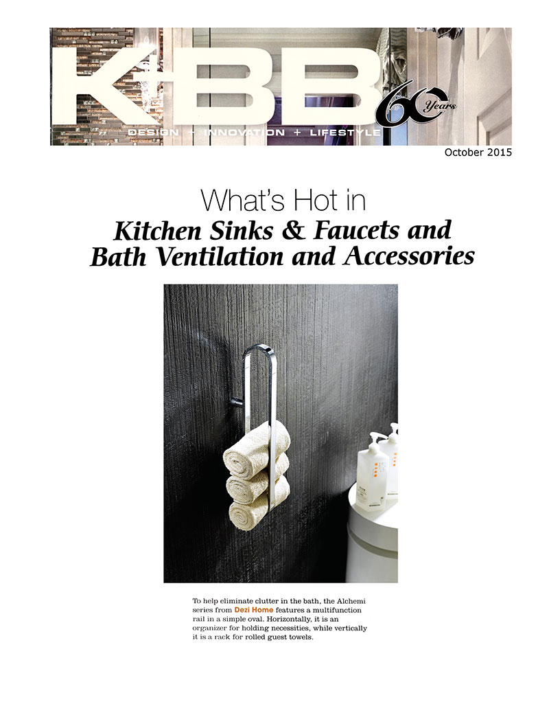 What\'s Hot in Kitchen Sinks & Faucets and Bath Ventilation and ...